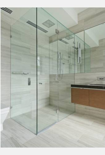 ArvaLuxury Fully Frameless Shower Screen Image